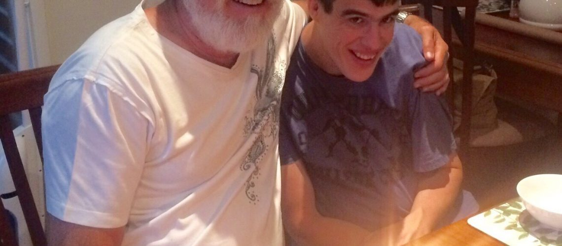 Ryan with Dad